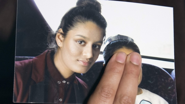 British teenager Shamima Begum fled London at the age of 15 with two school friends (Photo: Laura lean / Getty)
