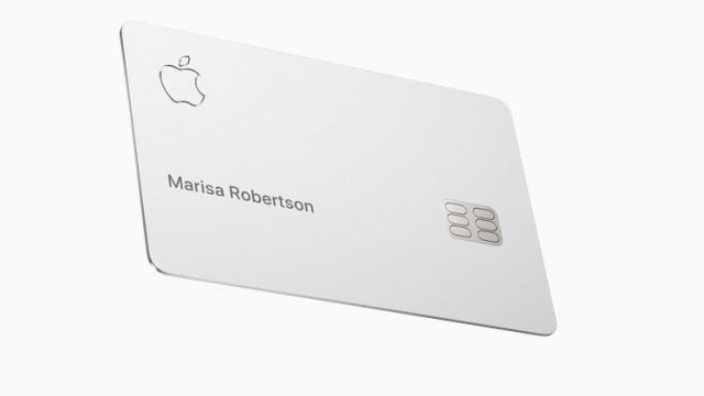 Article thumbnail: Apple's titanium, laser-etched credit card to coming to the US in the summer (Photo: Apple)
