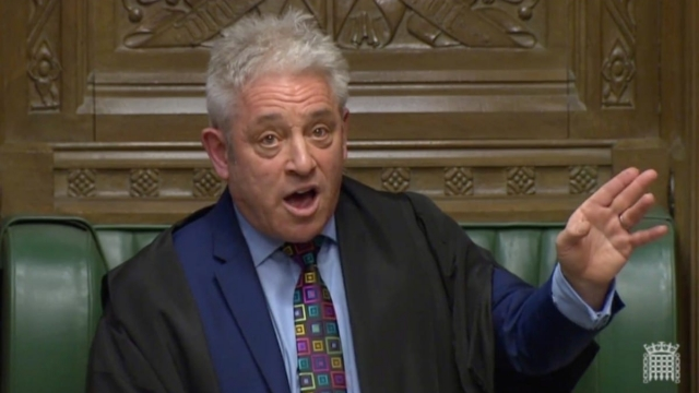 Speaker of the House John Bercow has to remain politically neutral (Photo: Reuters)