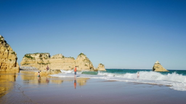 British were the most numerous tourists to Portugal in 2018 (LUDOVIC MARIN/AFP/Getty Images)
