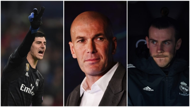 Article thumbnail: Zinedine Zidane has got plenty to think about ahead of a vital summer at Real Madrid (Getty Images)