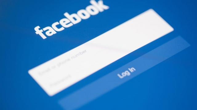facebook login shutterstock