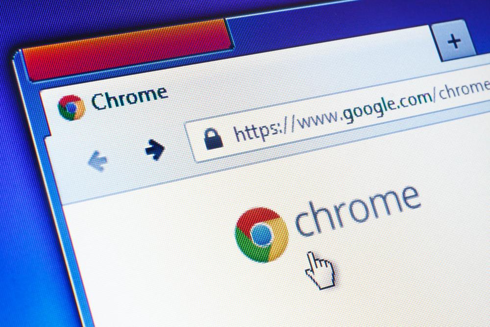 google chrome logo shutterstock