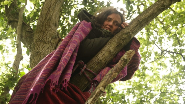 Extinction Rebellion protesters camping out in trees in Colne Valley (Photo: Johanna Rogers/PA Wire)