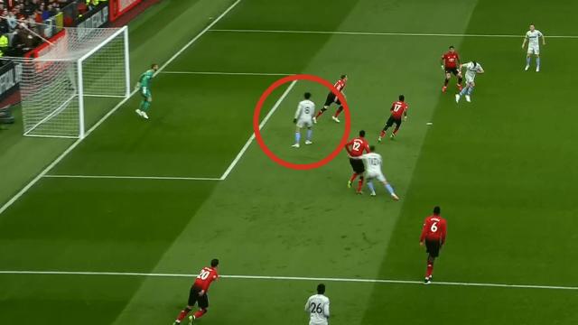 Felipe Anderson Offside Manchester United vs West Ham Premier League