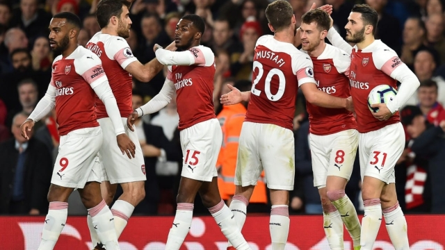 Arsenal face a high-stakes Europa League quarter-final clash with Napoli (Getty Images)