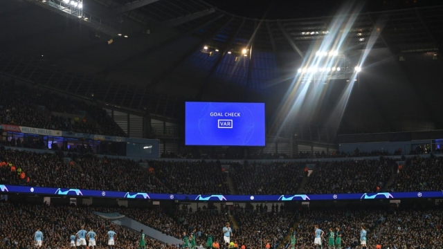 VAR ultimately decided a Champions League classic between Spurs and Manchester City (Getty Images)