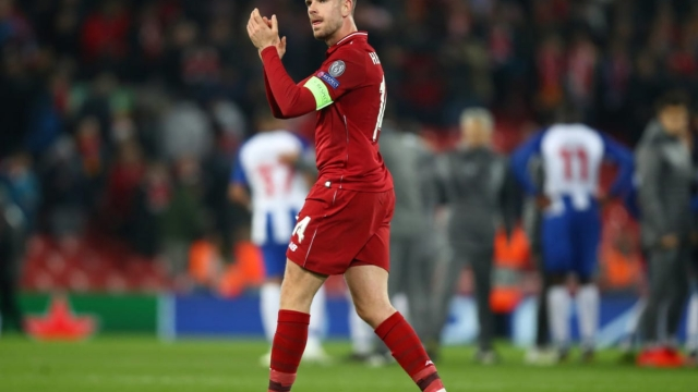 Jordan Henderson ran the midfield against Porto on Tuesday night (Getty Images)