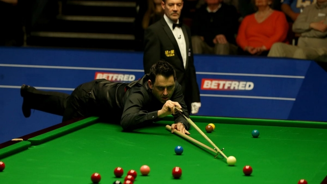 Can Ronnie O'Sullivan pull level with Steve Davis' six World Snooker Championship crowns? (Getty Images)