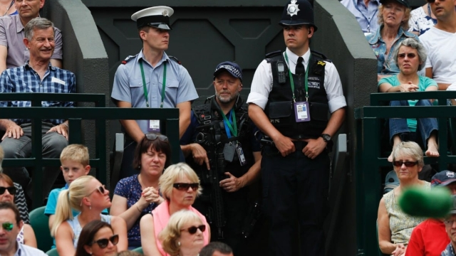 "The All England Lawn Tennis Club pays the Metropolitan Police £700,000 a year for officers at the Wimbledon tennis championships under one of 32 ""Special Police Service Agreements"". (Photo: Getty)"