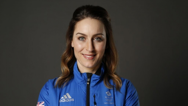 Amy Williams poses during Team GB kitting out ahead of the Pyeongchang 2018 Winter Olympic Games (Getty Images)