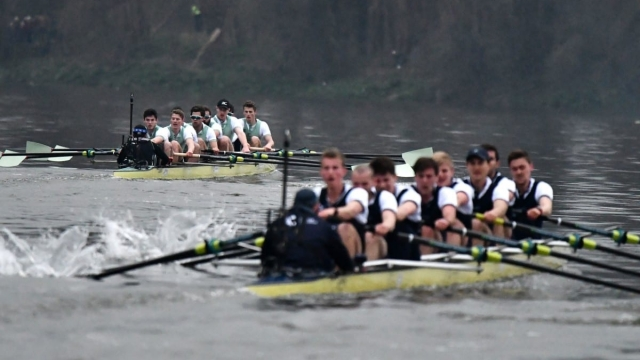 Cambridge enjoyed victory over Oxford in last year's Boat Race (Getty Images)