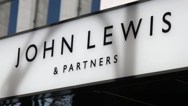 John Lewis in Oxford Street, London (DANIEL LEAL-OLIVAS/AFP/Getty Images)