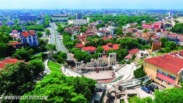 Plovdiv, Bulgaria 2019 European City of Culture. (Photo: www.visitplovdiv.com)