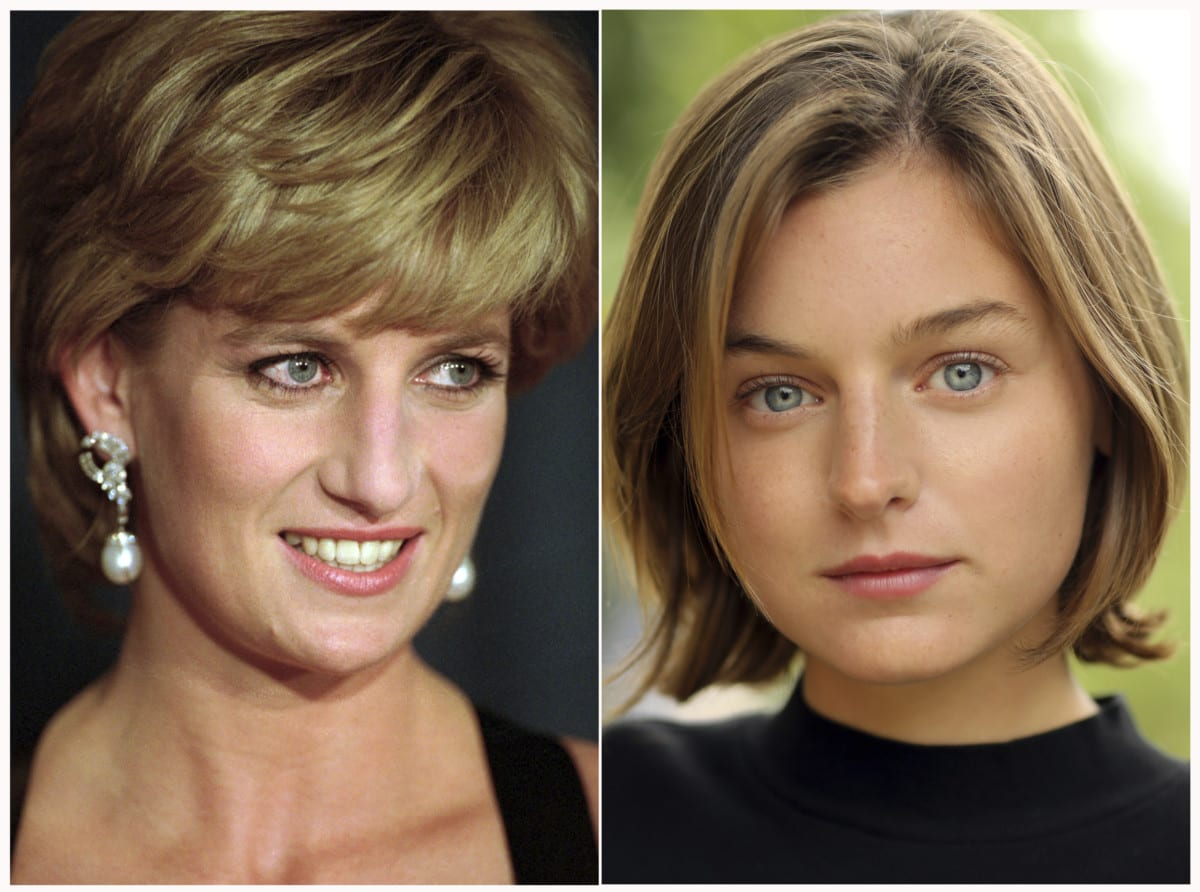 Actress Emma Corrin has been cast to portray Lady Diana Spencer in series four of the popular Netflix series (Photo: AP/Faye Thomas/Netflix)