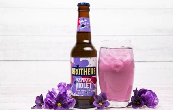 Parma Violets are the marmite of the confectionery world - some love the iconic sweets and some loathe them (Photo: Brothers Cider)