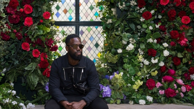Nominee Ghetts at The Ivors 2019 nominations announcement (PA)