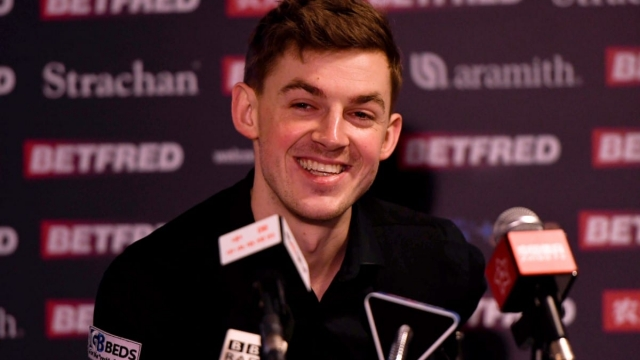 James Cahill beat Ronnie O'Sullivan 10-8 in the first round of the World Snooker Championship (Getty Images)