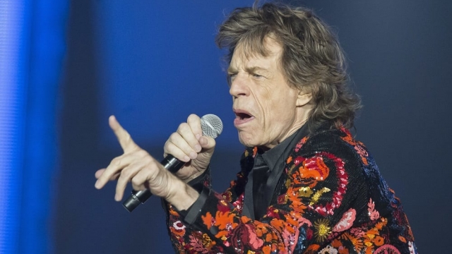 Doctors have reportedly said Sir Mick Jagger should make a full recovery. (Photo: Michel Euler/AP)