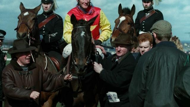 Richard Dunwoody rode Miinnehoma to Grand National victory in 1994 (Allstar/Alamy)