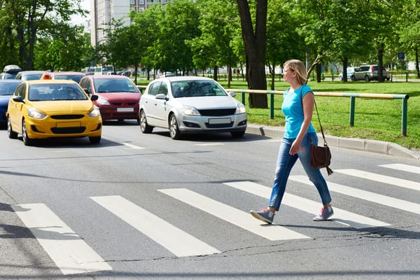 Failing to stop at a zebra crossing while a pedestrian is still on the road could land you with a hefty £100 fine (Photo: Shutterstock)