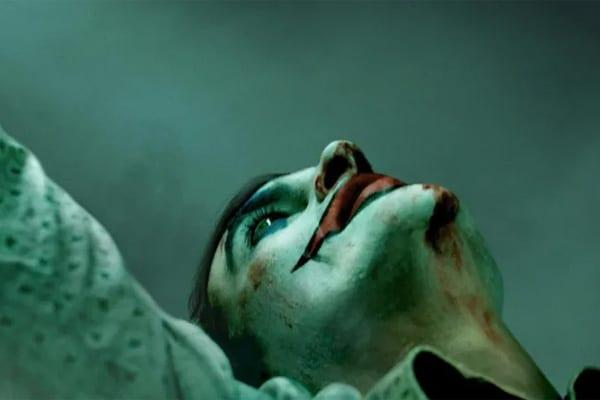 Joaquin Phoenix on The Joker poster