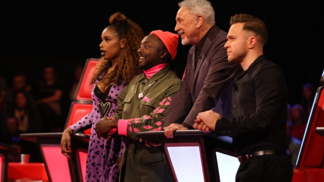 The Voice UK judged Jennifer Hudson, Will.i.am, Tom Jones and Olly Murs (Photo: ITV)