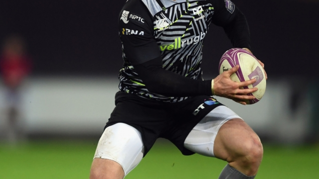 George North of Ospreys on 12 January 2019 (Getty Images)