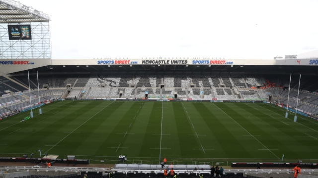 Not the sort of posts that fans expect to see at St James' Park (Getty Images)
