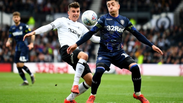 Leeds hold a one-goal advantage heading into the second leg (Getty Images)