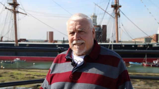 Joe Ousalice said the Navy was his life (Photo: Liberty)