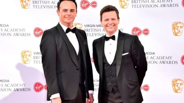Ant McPartlin made his red carpet return at the Bafta TV Awards (Photo: Matt Crossick/PA Wire)