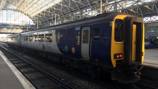 A Northern Rail train
