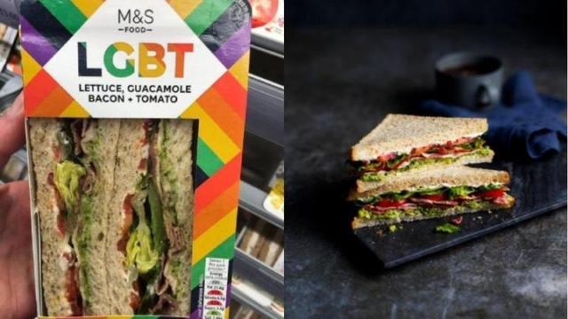 LGBT sandwich