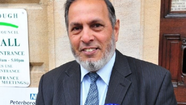 Councillor Gul Nawaz (Photo: Peterborough Today)
