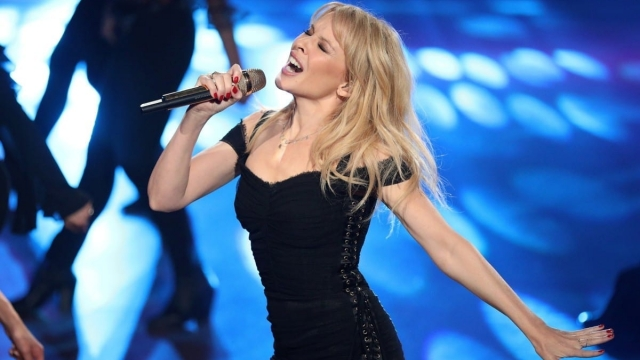 Kylie Minogue has released another glittering album