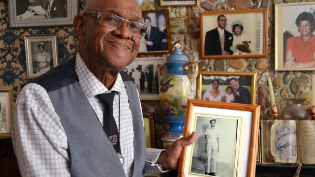 Allan Wilmot in The Unwanted: the Secret Windrush Files (Photo: Uplands Television Limited/Harriet Thomas)