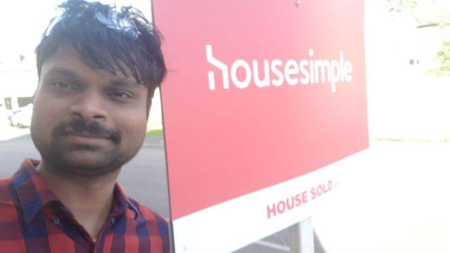 Kish Sharma and his wife saved money by selling through Housesimple (Photo: Shiva Sharma)