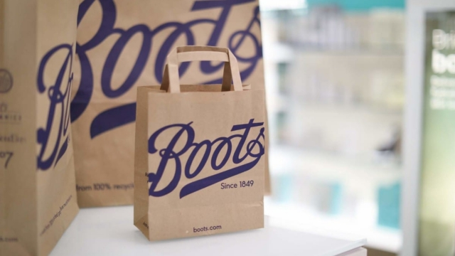 Boots is getting rid of plastic bags and introducing paper versions instead