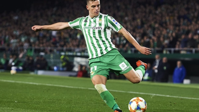 Giovani Lo Celso of Real Betis is attracting bids from Manchester United and Tottenham Hotspur (Getty Images)