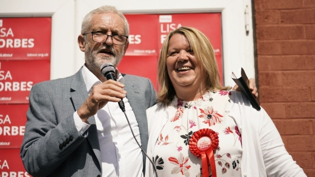 Labour Party leader Jeremy Corbyn has campaigned heavily for Lisa Forbes