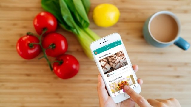 Olio is an app that connects neighbours with each other and volunteers with businesses so surplus food and other items can be shared, not thrown away