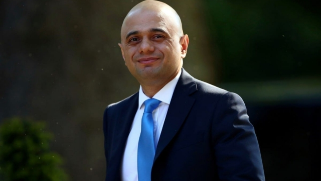 Article thumbnail: Britain's Home Secretary Sajid Javid said he would be prepared to enact a no-deal Brexit