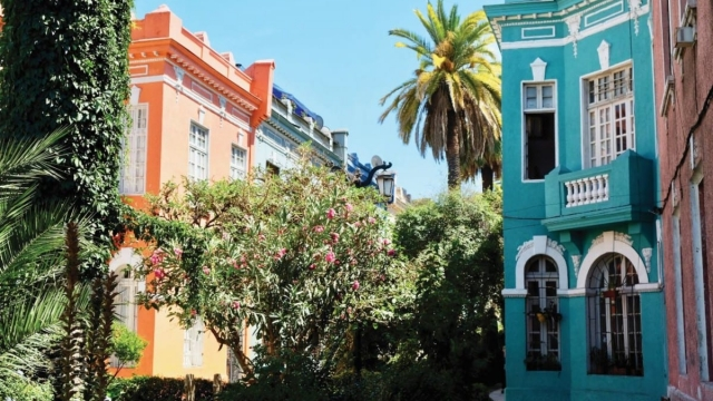 Barrio Yungay is a neighbourhood just west of Santiago's central district (Photo: Claire McQue)