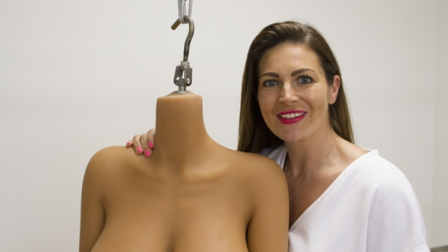 Jade Stanley from The Sex Business: Me and My Sex Doll (Photo: Channel 5)