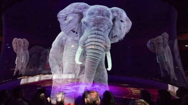 Article thumbnail: The Roncalli Circus has replaced real animals with holograms (Photo: Roncalli Circus)