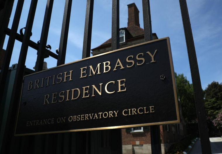The residence of former British Ambassador Sir Kim Darroch in Washington, DC  (Photo: Win McNamee/Getty Images)