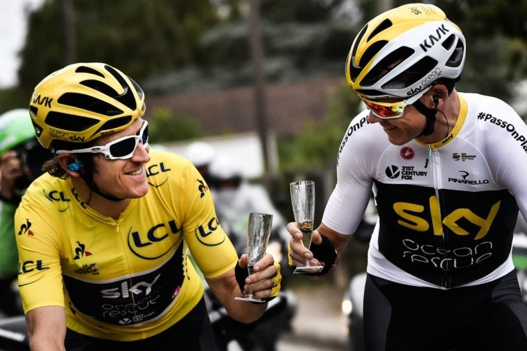 Geraint Thomas (L) and Chris Froome (R) have both tasted Tour de France success (Photo: Getty)