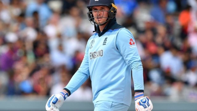 Jason Roy scored 443 runs in seven innings during the Cricket World Cup