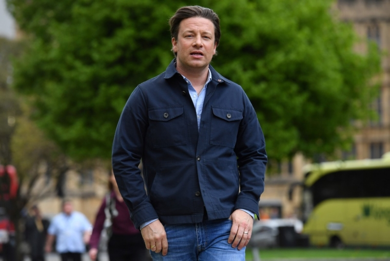 Jamie Oliver not posh